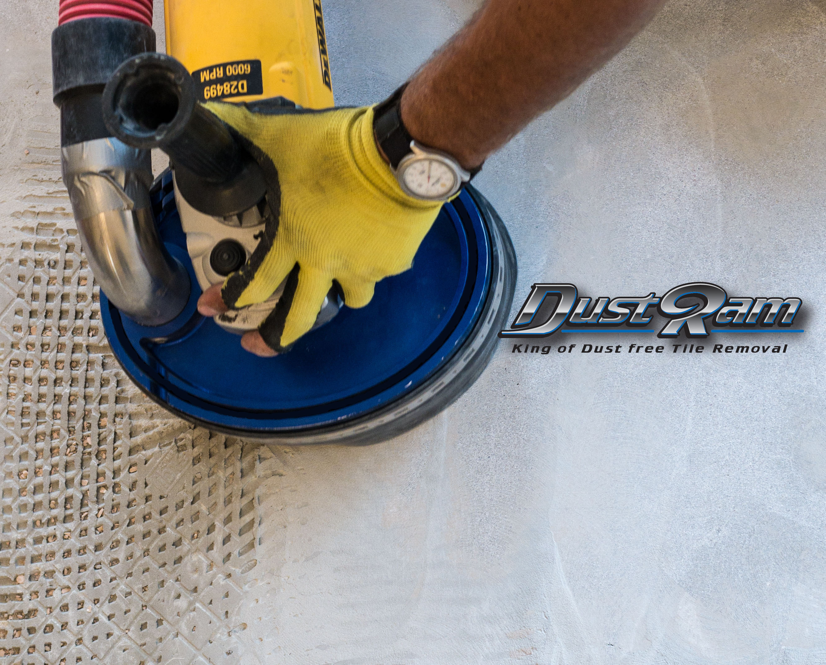 How to Remove Thinset Dust Free: A DustRam Guide