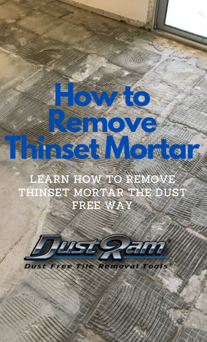 How to Remove Thinset